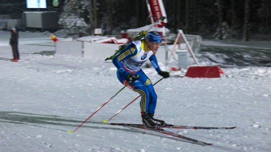 In Action Ruhpolding