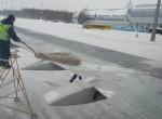 Isbekämpning av vingarna på ryskt vis!