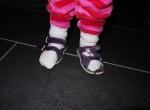Pappa - jag kan sätta på mig skorna själv!!