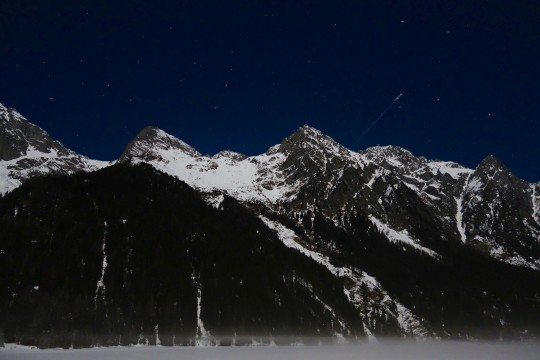 Månsken i Anterselva.